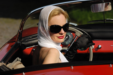 женщина за рулем, водительские права