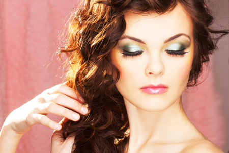 фото: макияж для зеленых глаз