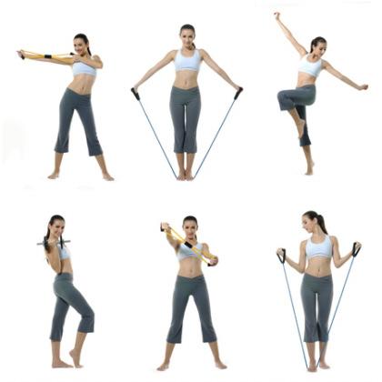 упражнения с эспандером в картинках