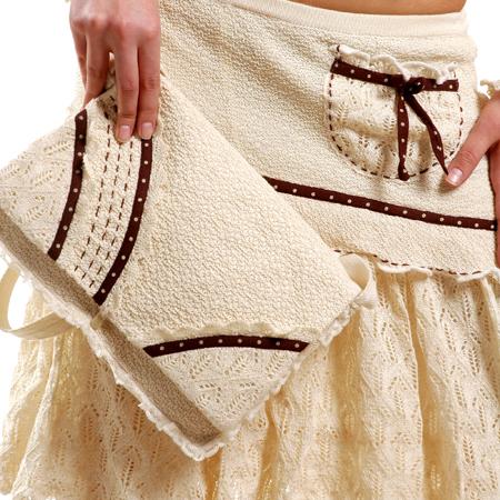 модные вязанные сумки