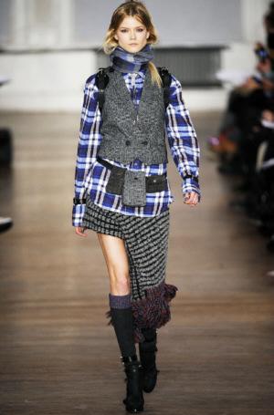 мода 2010 2011 осень одежда