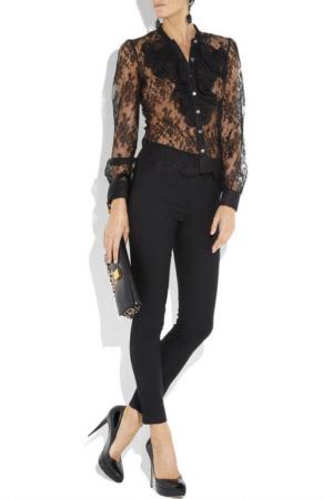 модные блузки 2010