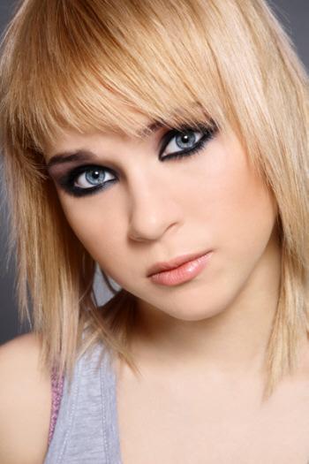 подростковый макияж глаз
