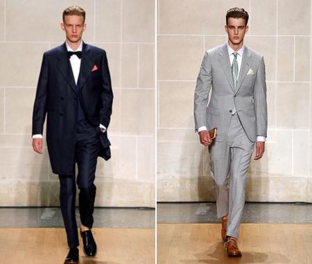мужская одежда Alfred Dunhill, коллекция 2011