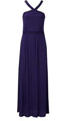 длинное платье на новый год от Oasis