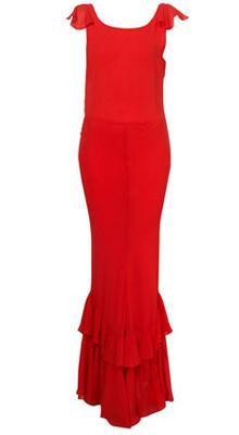 длинные платья на новый год 2011 от Topshop