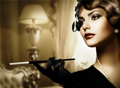 ретро макияж начало 20 века