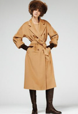 Возрождение классики: бежевое пальто