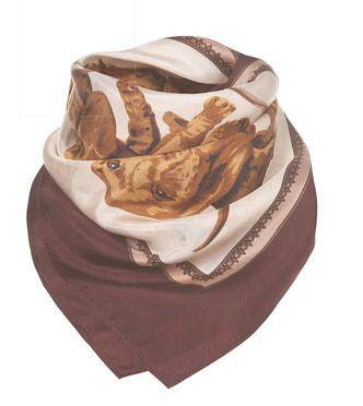 модные шарфы и платки 2011