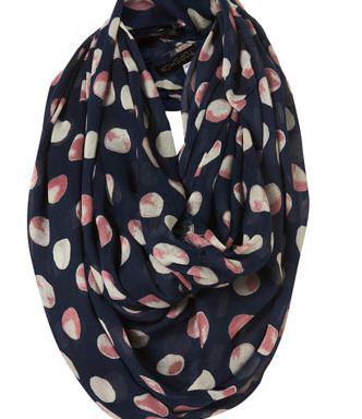 модные шарфы 2011 topshop