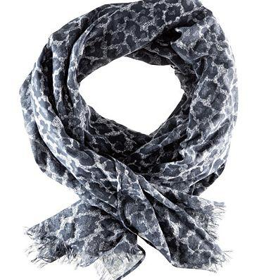 topshop модные шарфы 2011