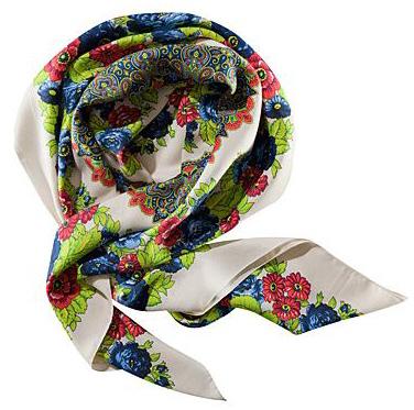 модные шарфы 2011