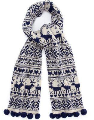 модные шарфы 2011 зима