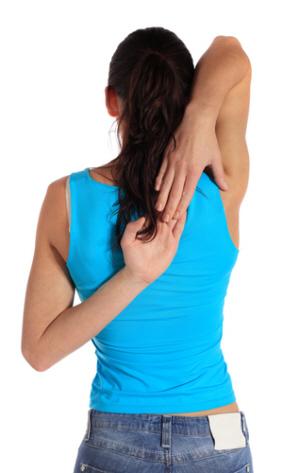 зарядка для мышц спины