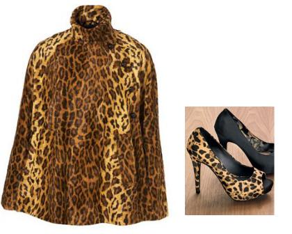 обувь с леопардовым принтом