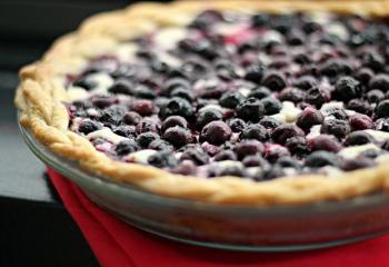 Черничный тарт с заварным кремом: десерт без излишеств