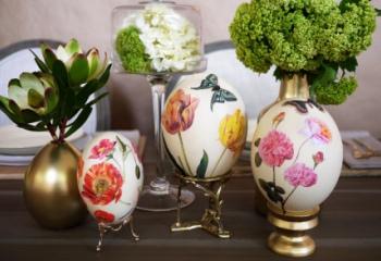 Пасхальные яйца: без петрушки и чулка