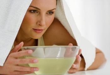 Паровые ванны – «генеральная уборка» лица