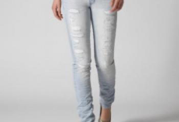 джинсы со строчкой сзади