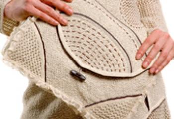 Вязанные сумки 2011 (ФОТО): сумки ручной работы, hand made сумки