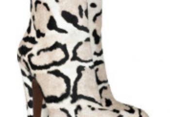 Модная обувь осеннего сезона 2010