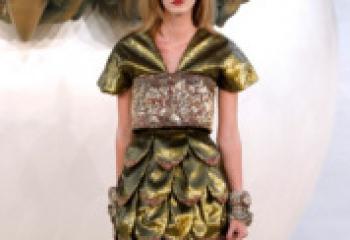 Осенняя коллекция Chanel 2010 года