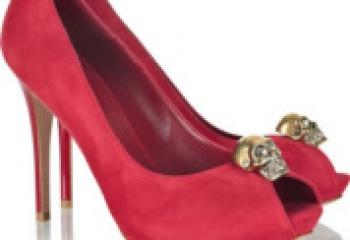 Туфли на высоком каблуке – осенние тенденции 2010