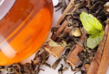Целебный травяной чай