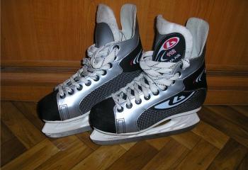 Как точить хоккейные коньки
