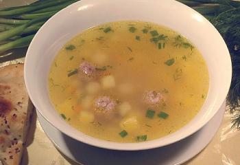 Как делать суп с фрикадельками