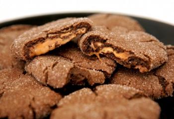 Как готовить печенье с карамелью