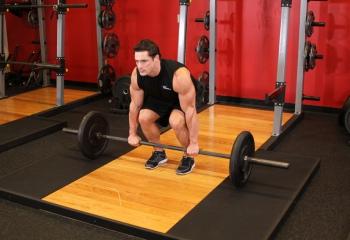 Как выполнять становую тягу