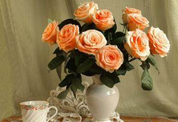 Как сохранить живые розы