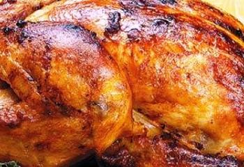 Как запечь курицу с корочкой