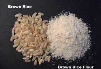 Как сделать рисовую муку