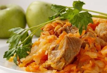 Тушеная капуста с мясом: пошаговые рецепты с фото для легкого приготовления