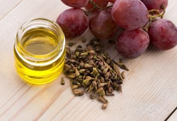 Укрепление волос маслом из виноградных косточек
