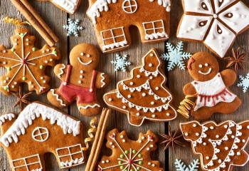 Рецепты от Юлии Высоцкой: рождественское имбирное печенье