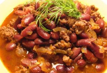 Рецепт чили для любителей острых блюд