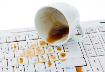 Почему может не работать клавиатура на ноутбуке