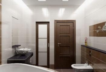 Из какого материала лучше поставить двери в туалет и в ванную