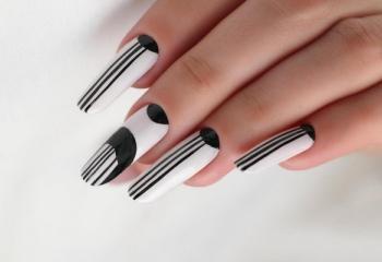 Как сделать рисунок на ногтях