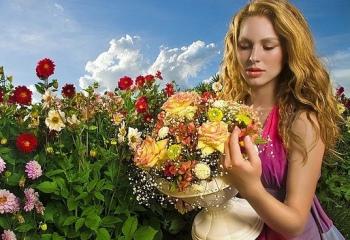 Какие цветы и сколько дарить девушке