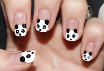 Что такое маникюр «панда» и как правильно его сделать