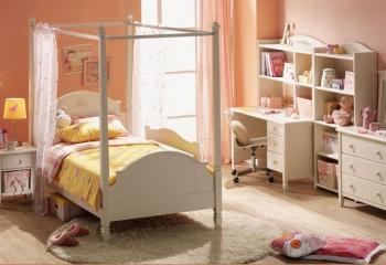 Как оформить детскую спальню