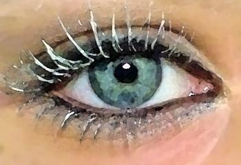 Как подобрать цвет волос для серых глаз