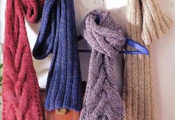 Как научиться завязывать шарф