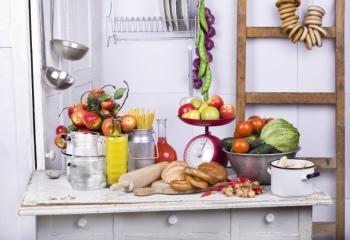 Как сделать кухню на даче своими руками