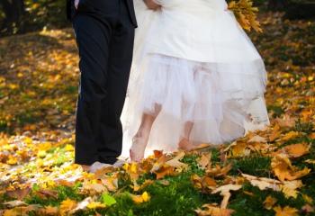 Осенний свадебный стиль