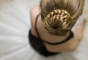 Прическа балерины – новая классика